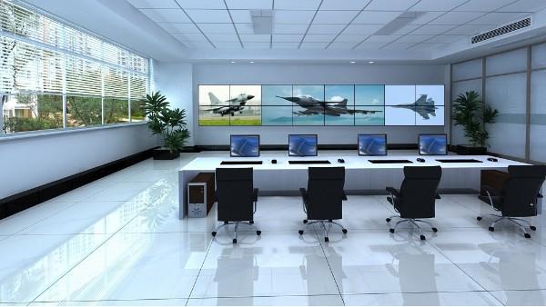 LCD液晶拼接屏常见的四种安装方式