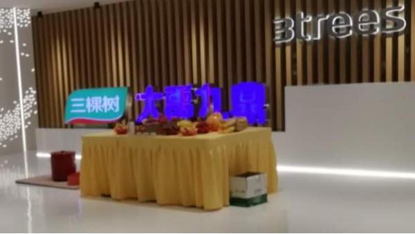 三棵树广州信息中心弱电工程项目